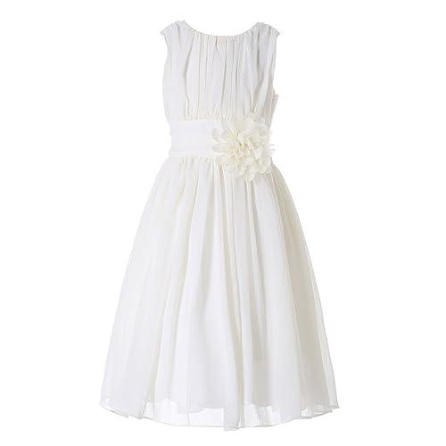1aada9c3e0ef Child s Ivory Bridesmaid Dresses  Amazon.co.uk