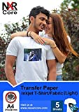 Iron on Transfer Paper | Sublimation Paper | Heat Transfer Paper for Light