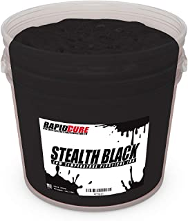 Ecotex Low Temperature Cure Plastisol Ink - Stealth Black - Rapid Cure Series for Screen Printing - Non Phthalate Formula for Fabric/Textiles Pint