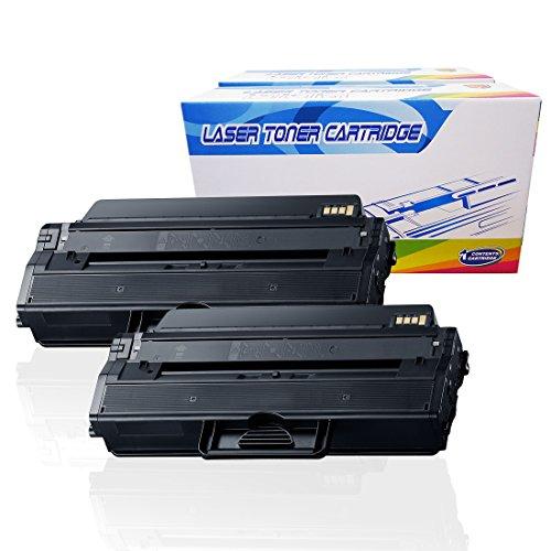 Inktoneram Compatible Toner Cartridges Replacement for Samsung D115L MLT-D115L MLTD115L Xpress SL-M2870 SL-M2880FW SL-M2830DW SL-M2820DW SL-M2870FW SL-M2620 SL-M2820 SL-M2670 (Black, 2-Pack)