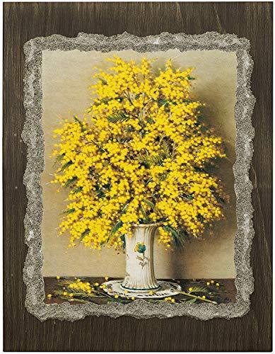 Ars Martos -'Mimosa' Franco Betti. Riproduzione d'Arte in Affesco su Intonaco. Disponibile in varie misure e finiture.