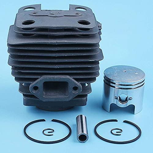 HaoYueDa Kit de Pasador de Anillo de pistón de Cilindro de 40 mm Compatible con ZENOAH Komatsu BC4301 FW PE2500 BK4301 BK4302 CB4410 Desbrozadora desbrozadora