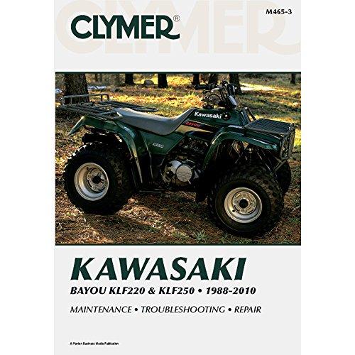 Clymer Kawasaki Bayou KLF220 & KLF250, 1988-2010 (Clymer Motorcycle Repair) [Paperback] [2011] (Author) Jay Bogart, Steve Amos, Ron Wright, Curt Jordan