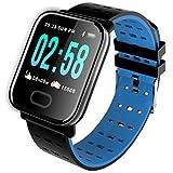 Chou Smart Watch for Men, Blood Pressure Smart Bracelet Heart Rate Monitor Sport Fitness Tracker IP67 Waterproof Smart Wristband Watch