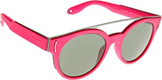 Sunglasses Givenchy 7017/S 0VFA Fuchsia Fluorescent Orsnt / 85 gray green lens