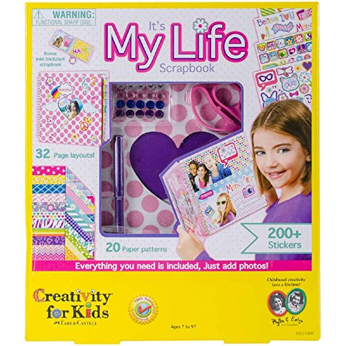 Best scrapbook for girls ages 5-10 for 2020