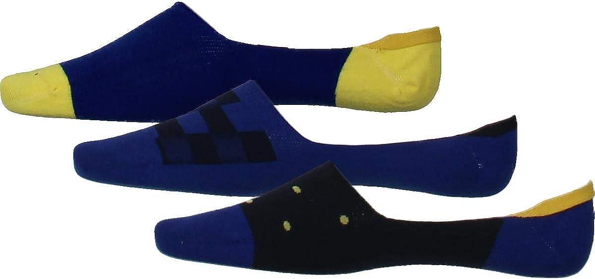 Bar Iii Mens 3-Pack No Show Socks