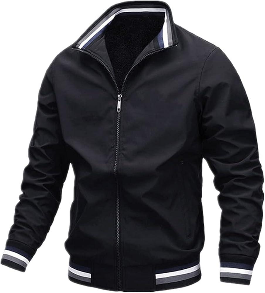 Spring autumn men's casual outdoor daily sportswear zipper