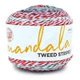 Lion Brand Yarn Mandala Tweed Stripes yarn, Shooting Star