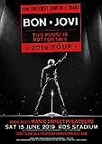 Kribee Poster Bon Jovi, Vintage, seltene Band-Rock-Poster,