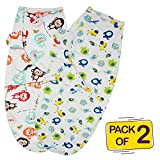 Bembika Organic Cotton Baby Swaddle Cocoon Sack | The Simple Swaddle | Soft
