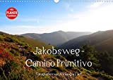 Jakobsweg - Camino Primitivo (Wandkalender 2022 DIN A3 quer)