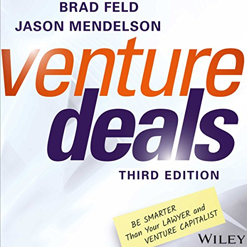 Venture Deals, Third Edition cover art
