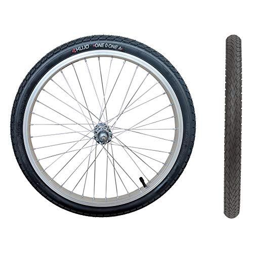 20 Zoll Laufrad, mit Reifen und Schlauch, 20x1.75 Zoll, f. Kinderrad/Anhänger (OneOOne A)