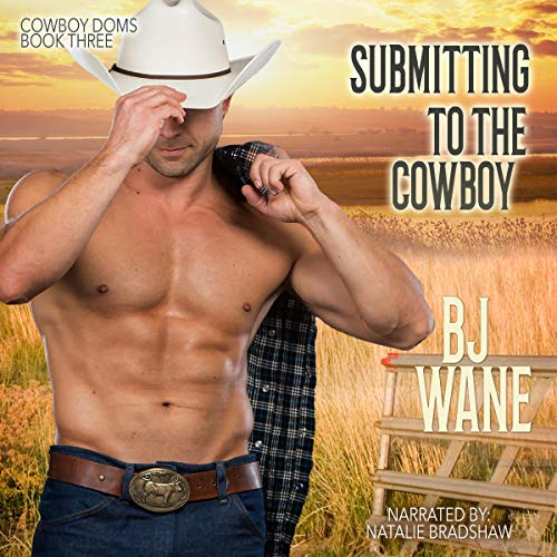 Submitting to the Cowboy audiobook cover art