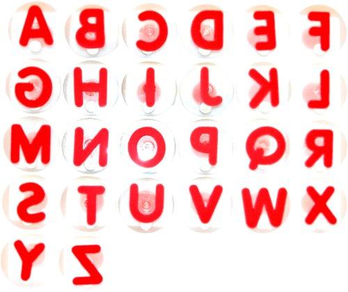 Eduplay 220004 - Riesenstempelset Buchstaben, 26-er Set