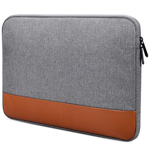 Laptop-Hülle für MacBook Air/Pro, Lenovo Yoga 720/730 13.3, Acer Chromebook 13.3, LG Gram 13.3, Dell XPS 13, HP Samsung ASUS ZenBook, 13-13.3 Zoll (33,3 cm), Grau