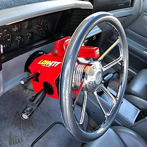 1clickautoacc R300 Lok-Itt Steering Column Lock fits G Body Chevy GMC Buick Cadillac Jeep Oldsmobile Pontiac GM RWD 1978-1996
