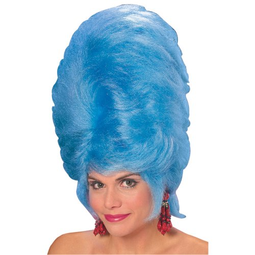 Rubie's Giant Beehive Wig, Blue, One Size