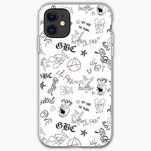 Pump Wallpaper Tattos Peep Rap Trap Lil - Phone Case for All of iPhone 12, iPhone 11, iPhone 11 Pro, iPhone XR, iPhone 7/8 / SE 2020… Samsung Galaxy