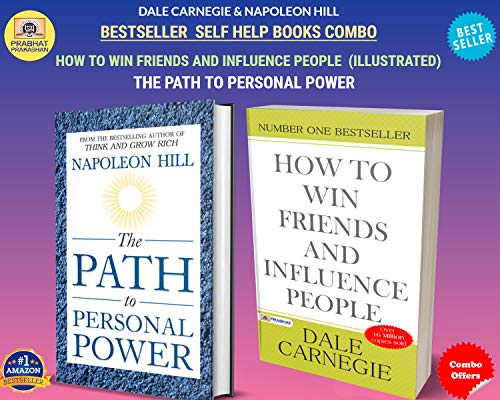 DALE CARNEGIE & NAPOLEON HILL INTERNATIONAL BEST SELLER COMBO (HOW TO WIN FRIENDS AND INFLUENCE PEOPLE (ILLUSTRATED) + THE PATH TO PERSONAL POWER) (English Edition)