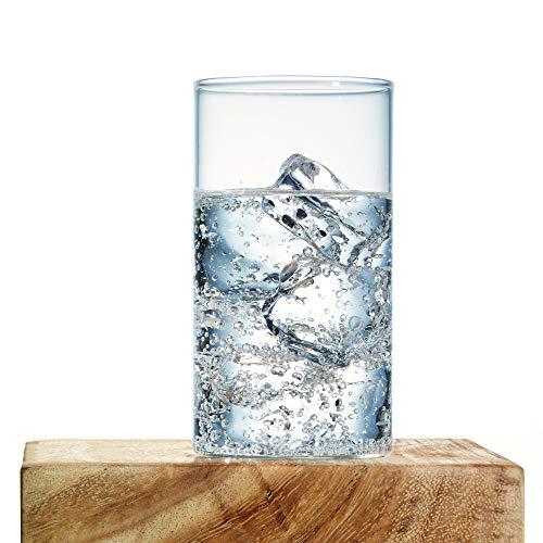 Borosil Vision Glass Set, 295ml, Set of 6, Transparent