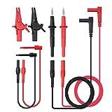 Neoteck 8 Piezas Plomo de Prueba de Multímetro Equipo de Cable de Prueba Electrónico Pro...