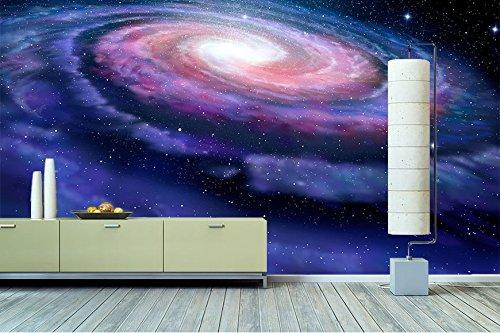 """WandbilderXXL® Vlies Fototapete """"Magic Galaxy"""" 360x240cm - hochwertige Tapete in 6 verschiedenen Größen für Wohnzimmer oder Büro - Foto Tapete - Qualität von Wandbilder XXL"""