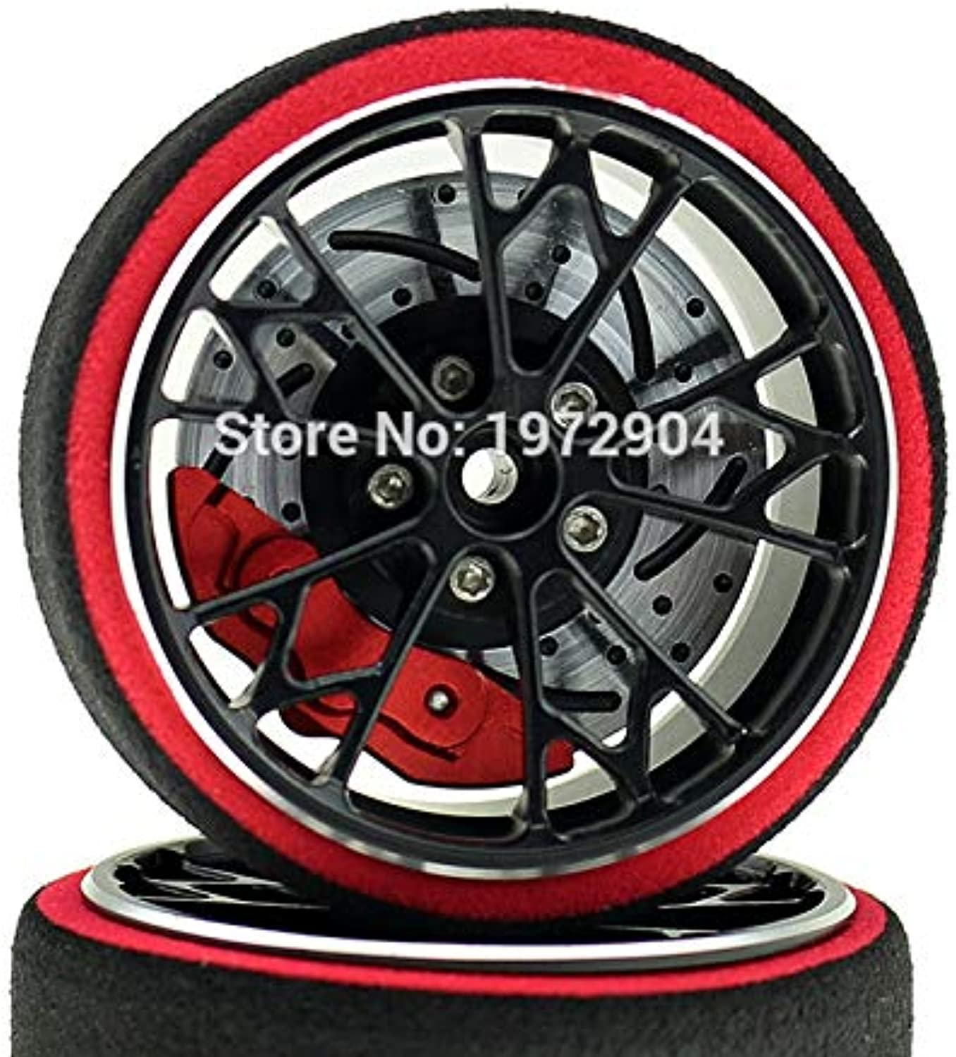 Laliva Upgrated RS Remote Control Controller Aluminum Alloy Hand Wheel SANWA M11 X MT4 4 S MXV RC Accessories  (color  Red)