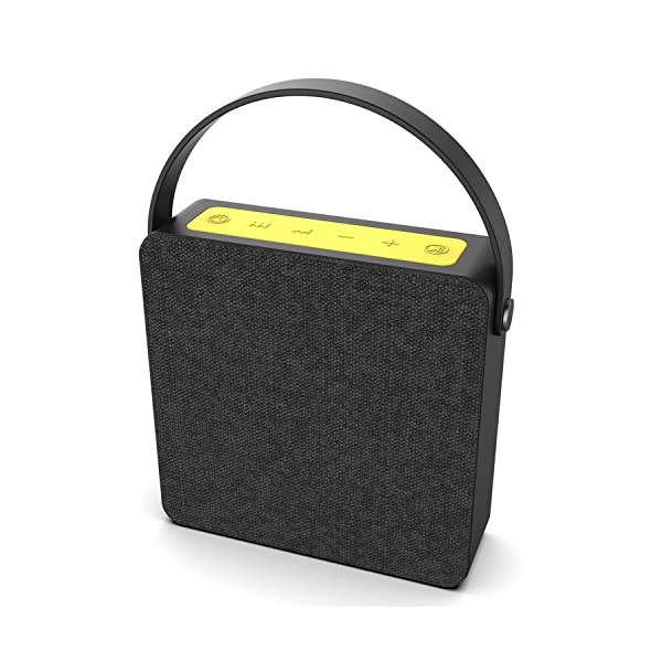 Portable Wireless Bluetooth Speaker, Loud & Powerful Dual HD Speakers W/Enhanced Bass, AUX Input, Rechargeable Hands Free Speakerphone W/Noise Cancellation Mic for iPhone/Android 3