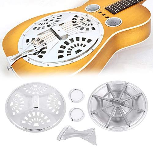 Bnineteenteam Dobro Resonator Guitar Full Set Ersatzteil , 6-in-1 Set Resonator Guitar Ersatzteil