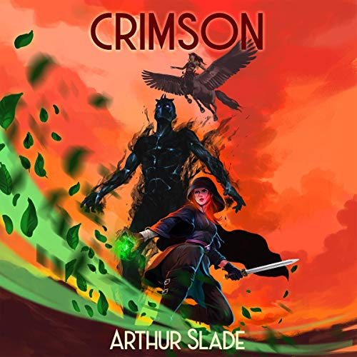 Crimson audiobook cover art