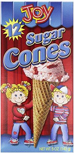 Joy Cone, Sugar Cone, 12 ct