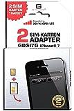 G-TELWARE GDSI7G/ CARBONSCHWARZ/ 2 Jahre Herstellergarantie!/ Mehrsprachig/Dual SIM Adapter...