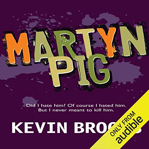 Martyn Pig audiobook cover art