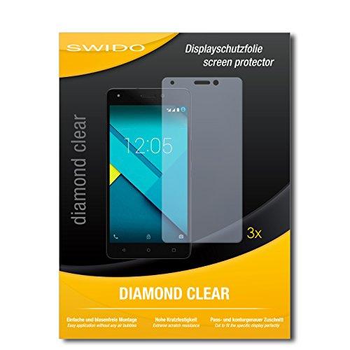 3 x SWIDO® Schutzfolie BQ Aquaris M5.5 Bildschirmschutz Folie