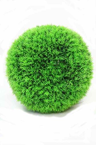 Hillfield Graskugel Ø 25 cm Deko künstlich, hergestellt