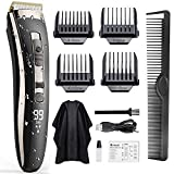 Hair Clippers for Men, Oudekay Professional Clippers for Hair Cutting Cordless Cutting Grooming