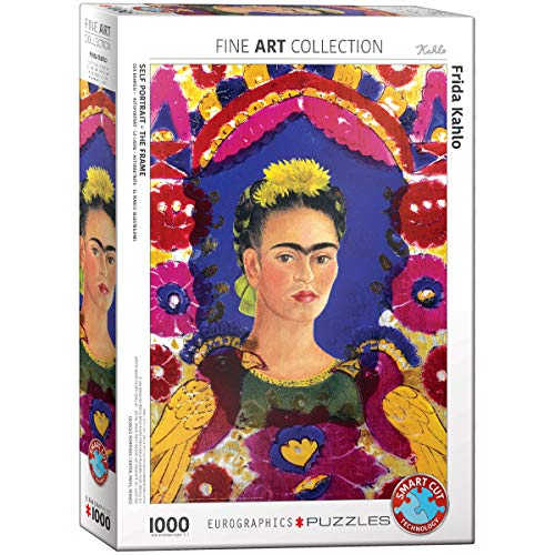 EuroGraphics-Frida Portrait Rompecabezas, Multicolor, 1000 (5425)