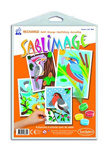 RECHARGE SABLIMAGE - OISEAUX