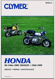 Clymer Repair Manual for Honda 50-110 OHC Singles 65-99