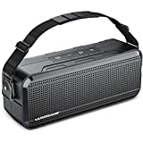 Bluetooth Speakers, WIMUUE 40W Wireless Portable Speaker Built-in 8000mAh Power Bank, IPX6 Waterproof, TWS, TF Card, Equalizer, Bluetooth 5.0, Indoor & Outdoor