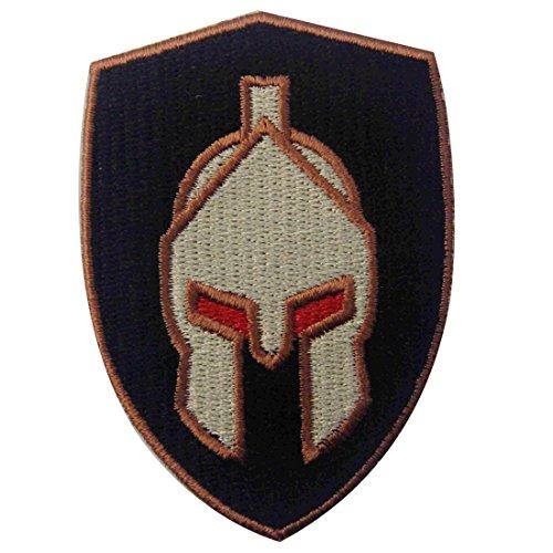 Parche termoadhesivo para la ropa, diseño de Casco de batalla espartano