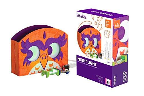 littleBits Hall of Fame Night Light Starter Kit, Purple