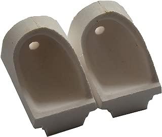 TJIRIS Dental Artificer Crucible Horizontal Quartz Crucible for Casting Machine