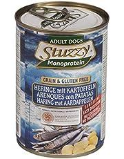 Stuzzy Comida Húmeda Natural para Perro Sabor Arenque - Paquete de 6 x 400 gr - Total: 2400 gr