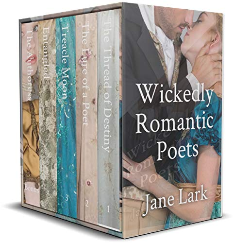 Wickedly Romantic Poets Box Set: Five racy regency novels at an amazing price