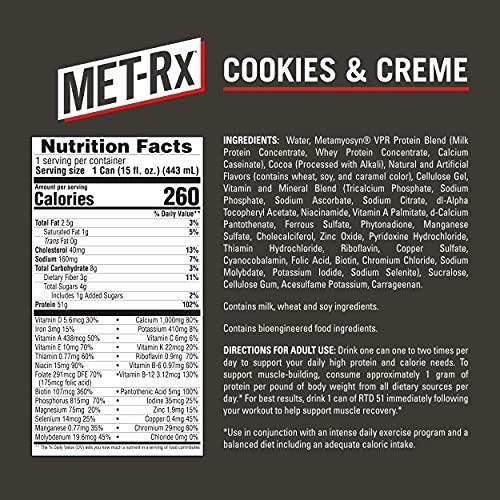 MET-Rx RTD 51 Protein Shake