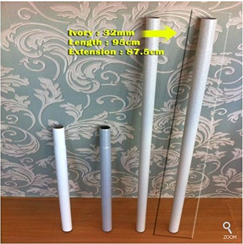 Extension Pipe for Prince Hanger (32mm, Ivory) - For 4 vertical pole product