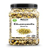 RiTrue Organic 50 Gm Chamomile Pure Herbal Loose Leaf Tea - Dried Flower for Weight Loss | Better...